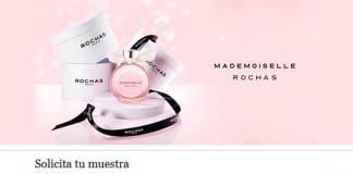 Muestras gratis de Mademoiselle Rochas