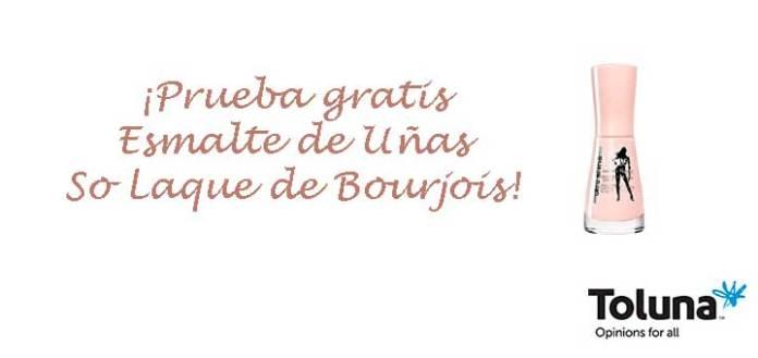 Prueba gratis Esmalte de Uñas So Laque de Bourjois