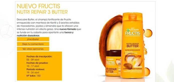 Prueba gratis Nutri Repair 3 Butter