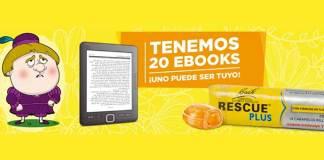 Rescue Plus sortea 20 Ebooks