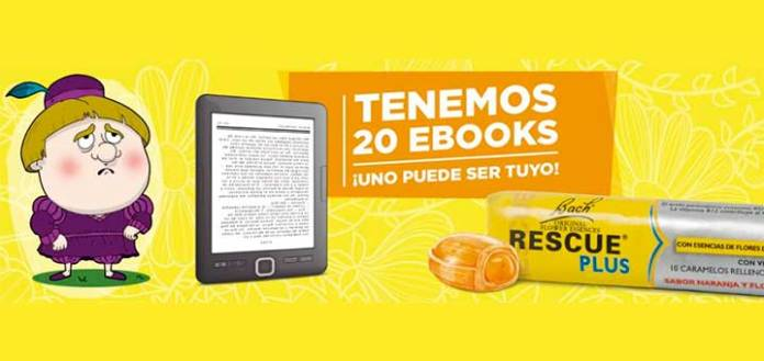 Rescue Plus sortea 20 Ebooks