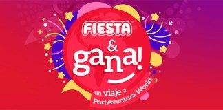 Gana un viaje a PortAventura World con Fiesta