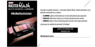 Prueba gratis Master Blush de Maybelline