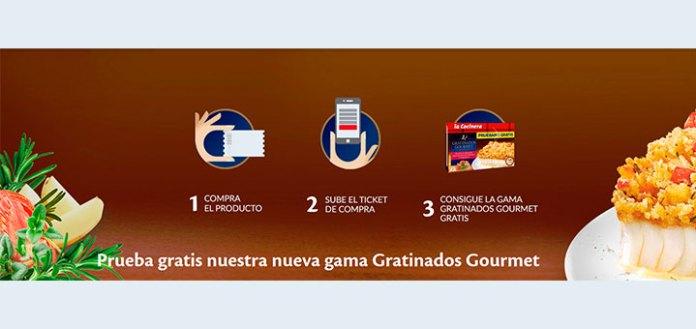 Prueba gratis Gratinados Gourmet de La Cocinera