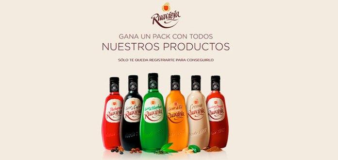 Gana un pack con productos Ruavieja