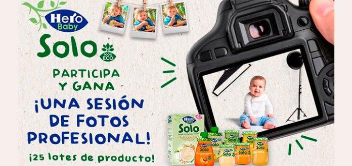Hero Baby Solo sortea una sesión de fotos con tu bebé