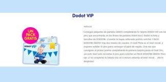 Gana un pack de pañales Dodot gratis