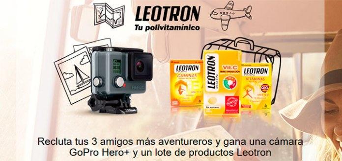 Gana una GoPro Hero+ y un lote de Leotron