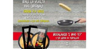 Palacios regala 2 iPad y 25 lotes de tortillas