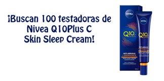 Prueba gratis Nivea Q10PlusC Skin Sleep Cream