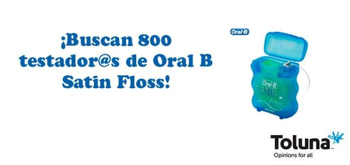 Prueba gratis Oral B Satin Floss