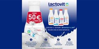 Gana 50€ cada día con Lactovit