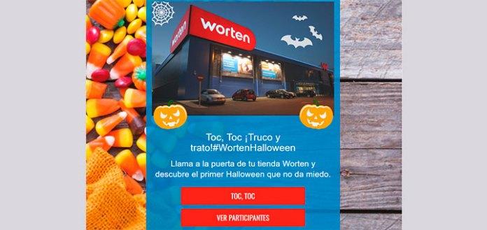 Gana premios en Halloween con Worten