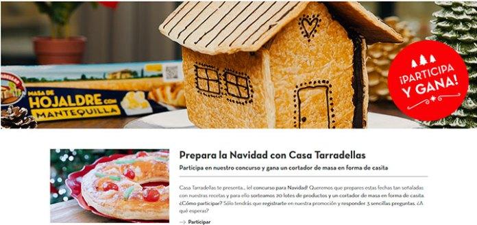 Casa Tarradellas sortea 20 lotes de productos y un cortador de masa