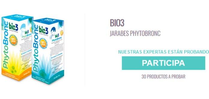 Dan a probar gratis Jarabes PhytoBronc Bio3