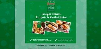 Llévate gratis el nuevo recetario de Navidad Buitoni