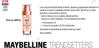 Prueba gratis Dream Satin con Maybelline