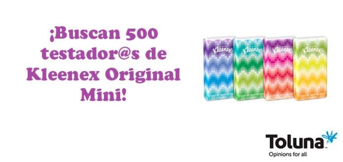 Prueba gratis Kleenex Original Mini