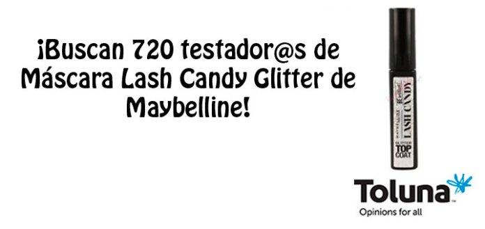 Prueba gratis Máscara Lash Candy Glitter de Maybelline