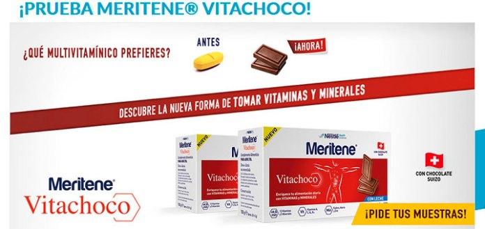 Consigue muestras gratis de Meritene Vitachoco