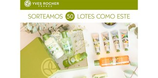 Yves Rocher sortea 50 lotes de productos