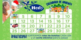 Calendario de adviento Hero