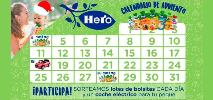 Calendario de adviento Hero