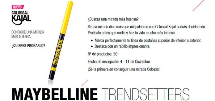 Prueba gratis Colossal Kajal de Maybelline
