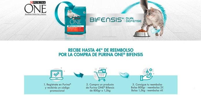 Reembolso en Purina One Bifensis
