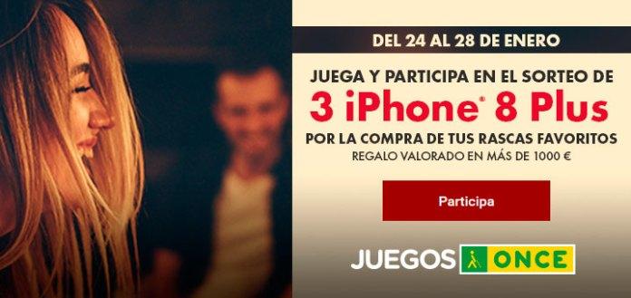 Gana uno de los 3 iPhone 8 que sortea Once
