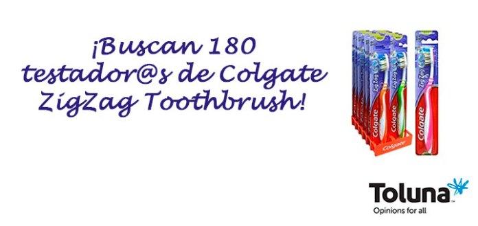 Prueba gratis Colgate ZigZag Toothbrush