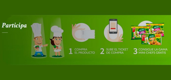 Prueba gratis la gama Mini Chefs de Findus