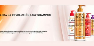 Reparten 500 productos Low Shampoo de Elvive