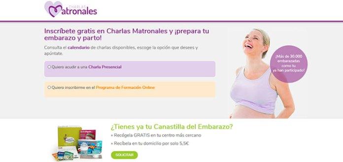 Charlas Matronales gratis