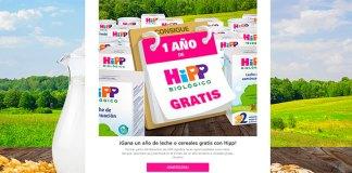 Consigue un año de leche o cereales gratis con HiPP
