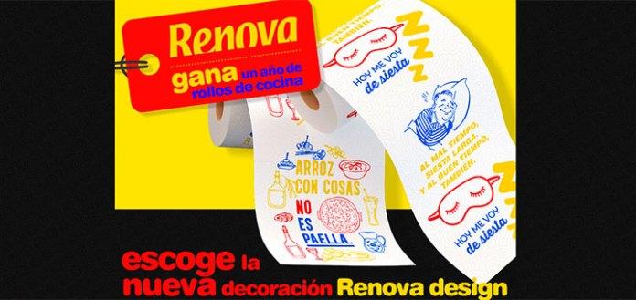 Gana un año de rollos de cocina con Renova