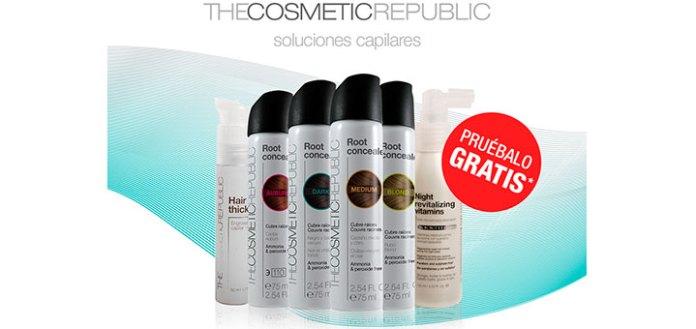 Prueba gratis soluciones capilares The Cosmetic Republic
