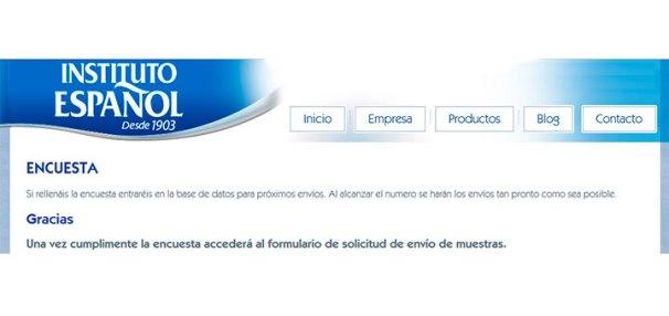 Resultado de imagen de instituto español muestras gratis
