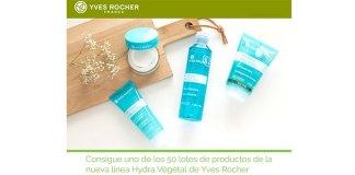 Sortean 50 lotes de productos Hydra Végétal de Yves Rocher