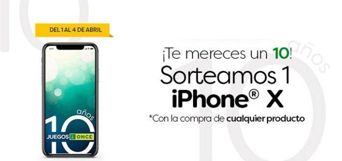 Juegos Once sortea 1 iPhone X
