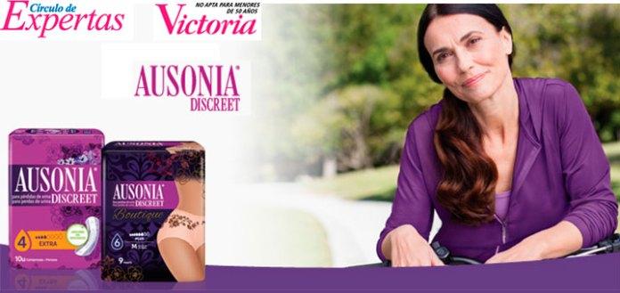 Prueba gratis Ausonia Discreet con Victoria 50