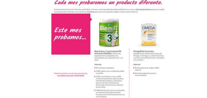 Prueba gratis Omegakids Gummies y Blemil plus 3 sin azúcar con Ordesa