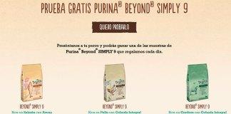 Prueba gratis Purina Beyond Simply 9