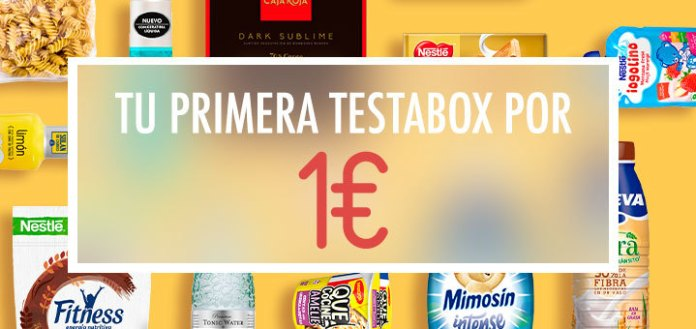 Recibe tu primera Testabox por 1€