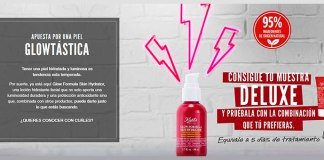 Muestras gratis de Glow Formula Skin Hydrator de Kiehl's