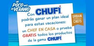 Gana una cena o Chufi gratis