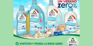 Sortean 3 lotes de productos Frosch Zero