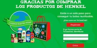 Consigue una bolsa reutilizable con Henkel