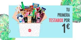 Ofertón: Tu primera caja Testabox por sólo 1€