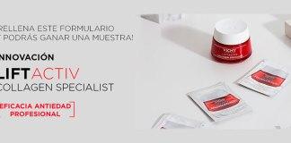 Muestras gratis de Liftactiv Collagen Specialist
